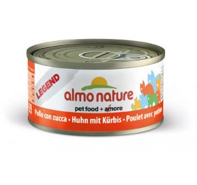 Cat food Almo in a box of 70 g chicken and pumpkin