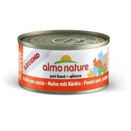 Nourriture pour chat Almo en boite de 70gr au poulet et au potiron