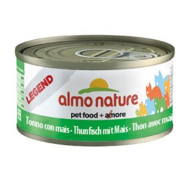Almo Nature cat,  Thon avec Mais 70gr