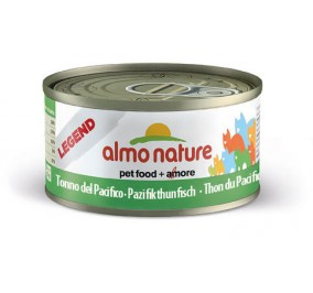 Cat food Almo in a box of 70 g Tuna of the Atlantic