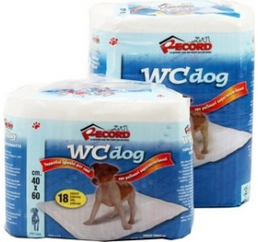 Absorbent mat TOILET-dog 60x60cm(16 pcs)