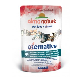 Nourriture pour chat Almo Alternative au maquereau en sachet de 55gr