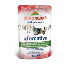 Aliment pour chat Almo Alternative au thon Pacifique en sachet de 55gr