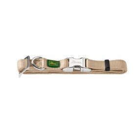 Collar, Hunter Nylon Beige S