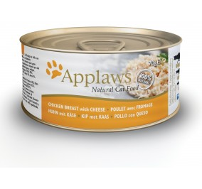 Food for cat Applaws canned chicken fillet & cheese 70g