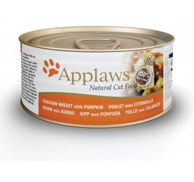 Cat food applaws canned chicken and pumpkin 70g