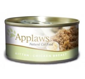 nourriture en boite pour chaton Applaws au poulet 70g
