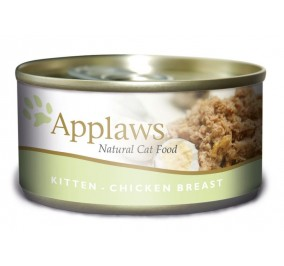 food in a box for the kitten Applaws chicken 70g