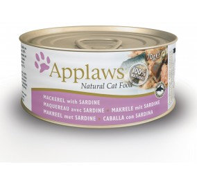 Box for the cat Applaws Maqueraux&Sardines 70 g