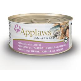 Boite pour chat Applaws Maqueraux&Sardine 70gr
