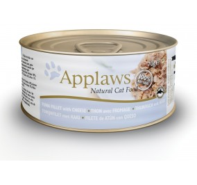 Box for the cat Applaws canned tuna fillet and cheese 70 g