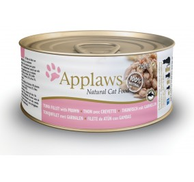 Cat food in a box applaws tuna and shrimp 70 g