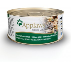 Cat food in a box Applaws tuna fillet and seaweed 70 g