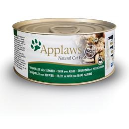 Nourriture pour chat en boite Applaws filet de thon et algues 70gr