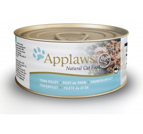 Food for cats Applaws tuna fillet in tin 70g