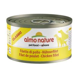 Almo Nature dog,   95g Filet de Poulet