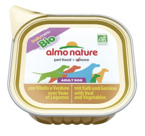 Almo Nature dog Bio Pâté 100g Veal and vegetables