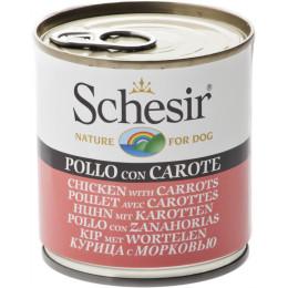 Schesir Chien Boite Poulet Carottes 285g