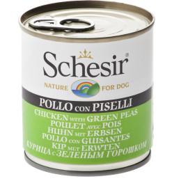 Schesir Dog Box Chicken Peas 285g