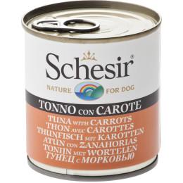 Schesir Chien Boite Thon Carottes 285g