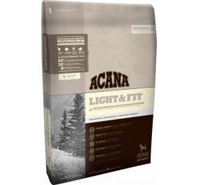 aliment pour chien ACANA dog adult light and fit  2kg