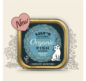 Lily's Kitchen Cat Paté Organic Poissons 85gr