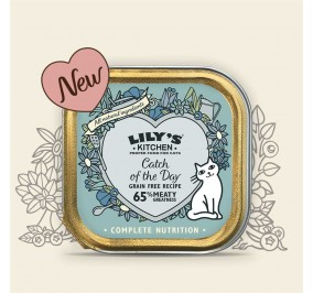 "Lily's Kitchen Cat "" Terrine de poissons"" 85gr"