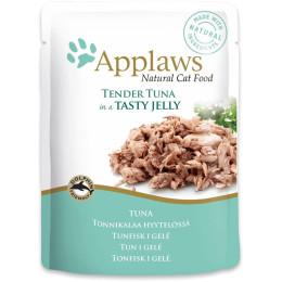 Nourriture pour chat Applaws en Gelée Thon sachet 70gr