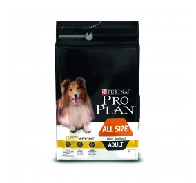 Proplan dog Adult light  3kg