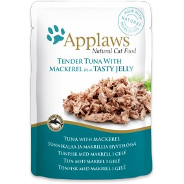 Pouch Applaws cat Jelly Tuna&Mackerel 70 g