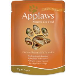 Cat food Applaws chicken and pumpkin pouch 70 g