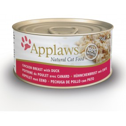 Applaws Boite Poulet & Canard 70gr