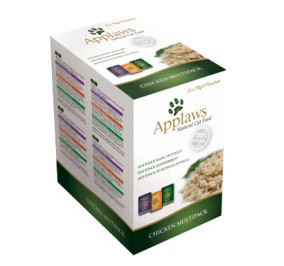 Nourriture chat Applaws sachet poulet Multi Pack 12x70g