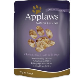 Cat food Applaws pouch Chicken breast & Wild Rice 70g