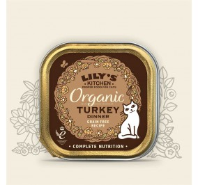Lily''s Kitchen Pâté for cat organic Turkey 85gr