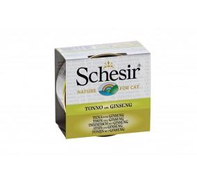 Schesir Cat Box 70g (Broth) Tuna&Ginseng