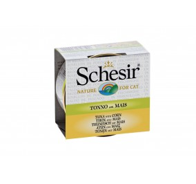 Schesir Cat Box 70g (Broth) Tuna&But