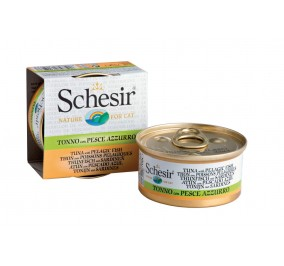 Schesir Cat Box 70g (Broth) Tuna&Pelagic Fish