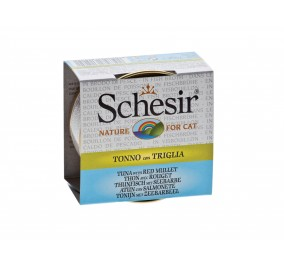 Schesir Cat Box 70g (Broth) Tuna&red Mullet
