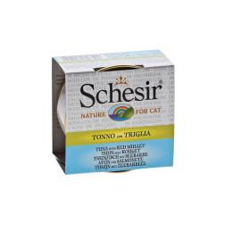 Schesir Cat Box 70g (Broth) Tuna&red Mullet