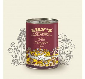 """box for dog Lily''s Kitchen Wild Campfire"""" 400gr"""