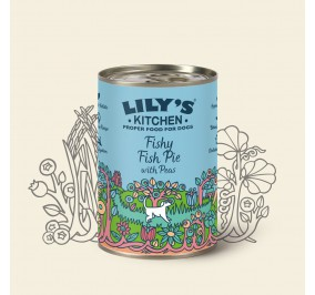 Food for dog Lily''s Kitchen turkey and the fish in the box 400gr