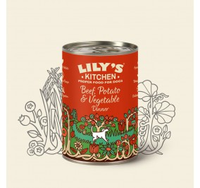 Lily's Kitchen Dog Boeuf 400gr