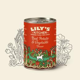 Lily''s Kitchen Dog Beef 400gr