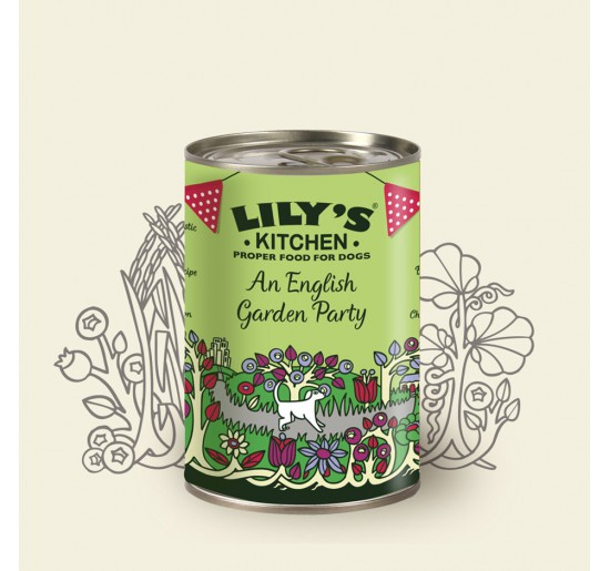 Lily''s Kitchen Dog English Party 400gr