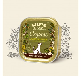 Lily''s Kitchen Dog Pâté Organic Lamb 150gm