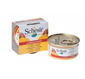 Schesir Cat Boite 75g Thon&Mangue