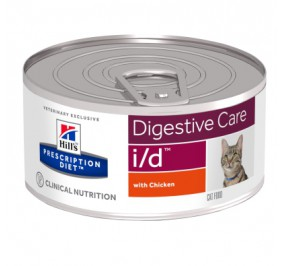 Prescription Diet™ i/d™ Feline with Chicken 24x156gr