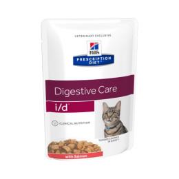 Prescription Diet ™ i / d™ Feline Tender Chunks in Gravy with Salmon 4x (12x85gr)