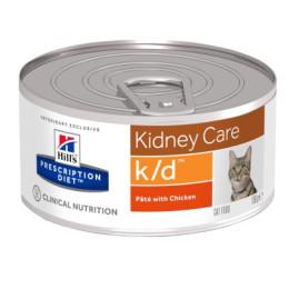 Prescription Diet™ k/d™ Feline with Chicken Box 24x156gr